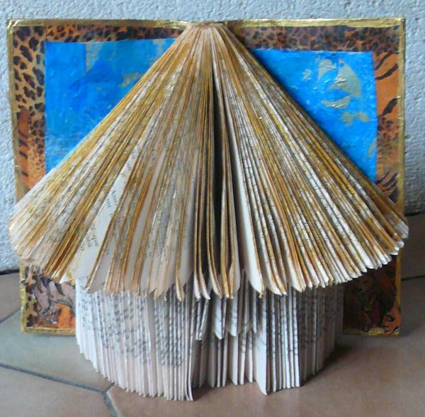 Sehr Artisanat de Vitry] Pliage de livres VL94